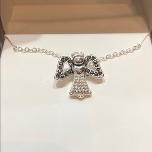 Silver Angel Charm Necklace NWT
